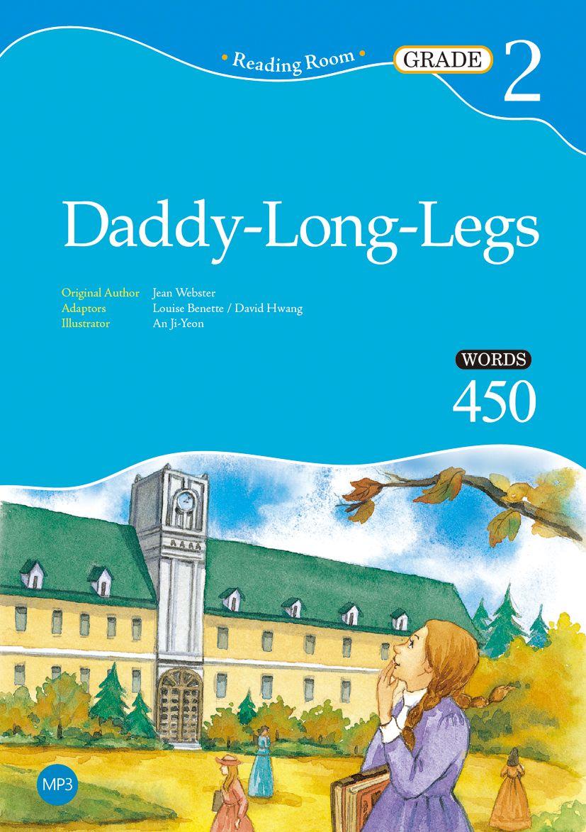 9789863188889 【大師圖書寂天文化】Daddy-Long-Legs【Grade2】(2ndEd.)(25K經典文學改寫讀本+1MP3)