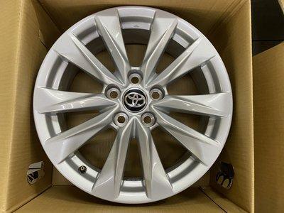 中古鋁圈 TOYOTA Corolla Cross 原廠 17吋鋁圈 5孔114.3 6.5J ET35 只有兩顆