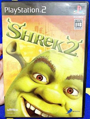 幸運小兔 PS2遊戲 PS2 史瑞克 2 Shrek 2 PlayStation2 日版遊戲 E3