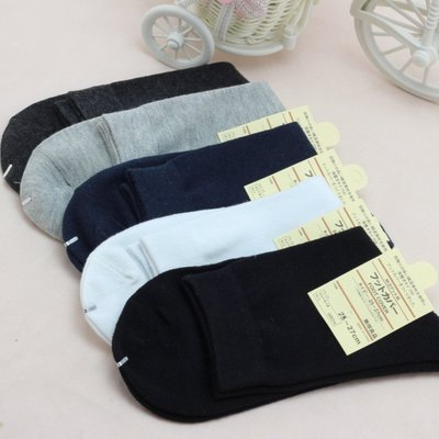 艾莉小舖~中性 全棉商務襪 四季都可穿...