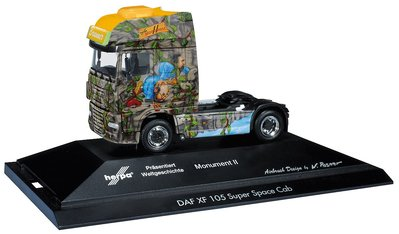 DAF XF 105 SSC Zugmaschine【Herpa Monument II】Limited Edition