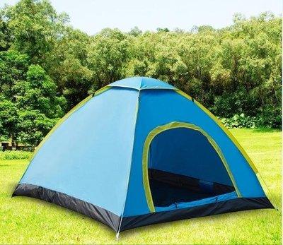 現貨/帳篷戶外2人3-4人家庭二室一廳防雨加厚單雙人全自動野營野外露營65SP5RL/ 最低促銷價
