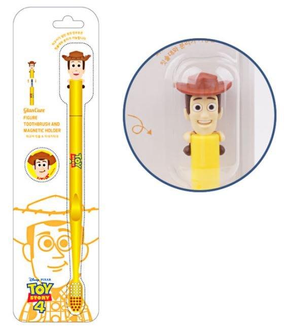 X射線【C900285】胡迪Sheriff Woody 磁力吸附牙刷,牙刷/牙線/齒間刷/電動牙刷/沖牙機/牙刷附吸盤