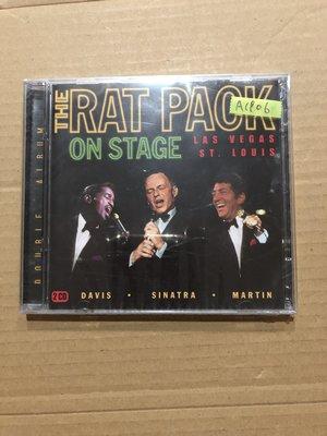 *還有唱片二館*THE RAT PACK / ON STAGE 全新 A1906 (下標幫結)
