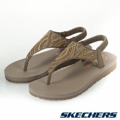 【曼曼鞋坊】SKECHERS 女款 夾腳 涼鞋  MEDITATION   32919TPE