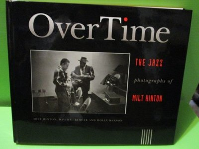 【大亨小撰~古舊書】Over Time(爵士樂攝影集-英文原版) // 1991年出版