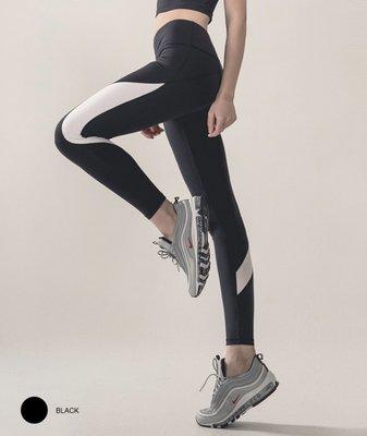 【艾利洋行】 ( TrueFoxy ) Conterast Active  Yoga 瑜珈褲/韻律褲/瘦身褲