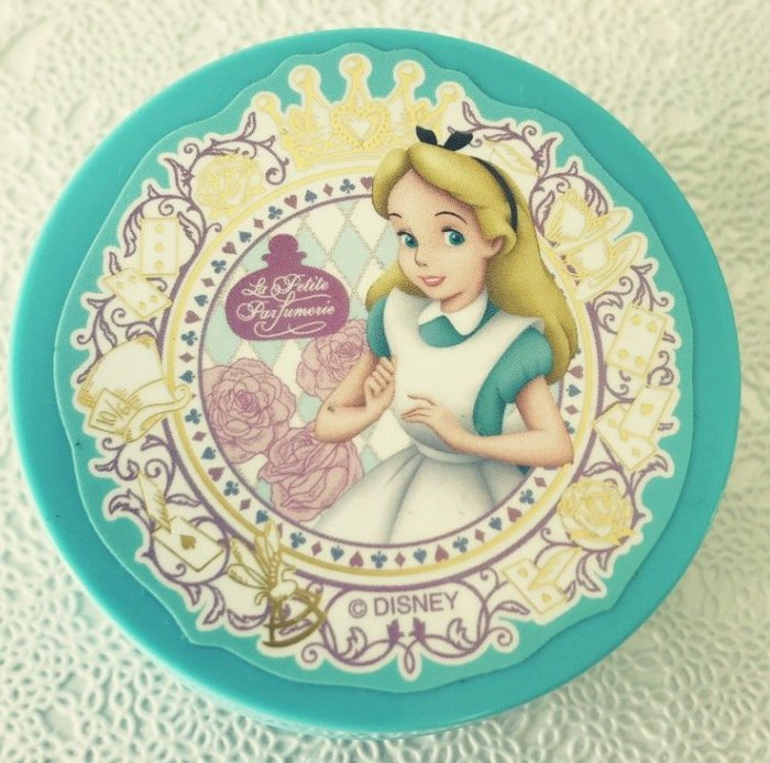 Ariel's Wish-日本東京迪士尼愛麗絲Alice妙妙貓時鐘兔花園下午茶園區內限量款身體乳液潤膚乳霜-日本製現貨