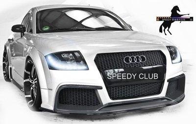 SPEEDY 競速 Audi TT MK1 D-DESING 前保含水箱罩