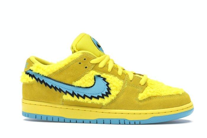 【紐約范特西】預購 Nike SB Dunk Low Grateful Dead Bears Opti Yellow