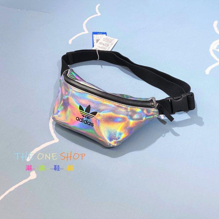 adidas Waistbag 愛迪達 腰包 側背包 斜背包 隨身包 肩背包 小包 包包 銀色 炫彩 FL9632