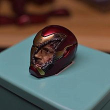 預訂 1:6 IRONMAN MARK50 半面頭雕 戰損版 合 HOT TOYS IRON MAN MARK50