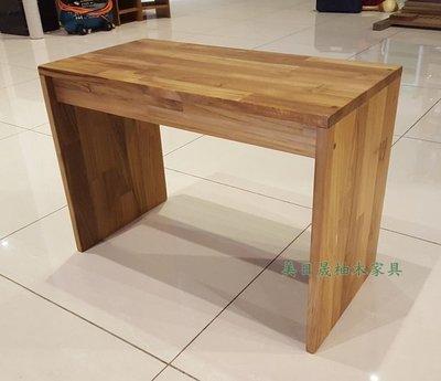【美日晟柚木家具】SCH 03 ㄇ型椅 邊几 花架 原木 小朋友寫字桌 原木傢俱 (兩用)