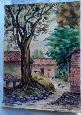 紫色小館1-1-----------老樹與雞