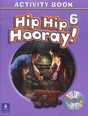 兒童美語 Hip Hip Hooray! 《6》Activity Book 全新未使用  60頁 附CD