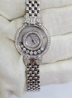 CHOPARD蕭邦錶 HAPPY DIAMONDS快樂鑽-W1330