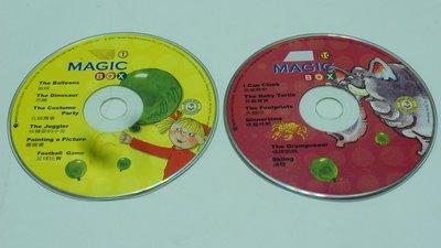 【彩虹小館】V02兒童CD~MAGIC BOX (CD1.10)~佳音英語~共2片