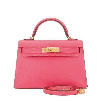 Hermes Mini Kelly II cc8W Cherve