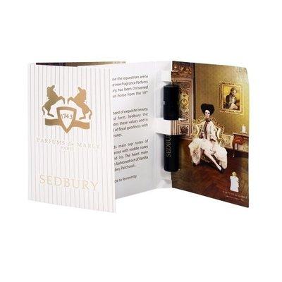 ☆MOMO小屋☆ PARFUMS de MARLY 希德柏莉 SEDBURY 女性淡香精 1.2ml (原廠噴式)