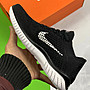 (特價清倉)Nike FREE RN FLYKNIT 黑白 赤足 編織 休閒運動慢跑鞋 942838-001