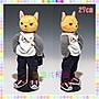 ※龍貓共和國※日本正版《仿真擬真小貓咪 喵星人 ZAP CAT 搖滾帥氣人形 絨毛玩偶 娃娃 27公分》禮物