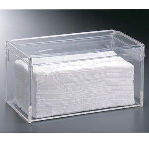 (永展) 6只  抽取式 紙盒 加蓋 衛生紙盒 防水 透明 壓克力 (附蓋) SF-959