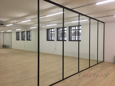 【耀偉】鋁框高隔間 (辦公桌/辦公屏風-規劃施工-拆組搬遷工程-組合隔間-水電網路)14