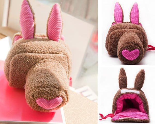 5Cgo【鴿樓】會員有優惠 16142247149 兔 單反包 手工相機包 可愛時尚 微單相機包 索尼佳能尼康