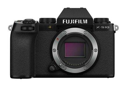 馬克攝影器材專賣店:全新富士 FUJIFILM X-S10 單機身(黑色)