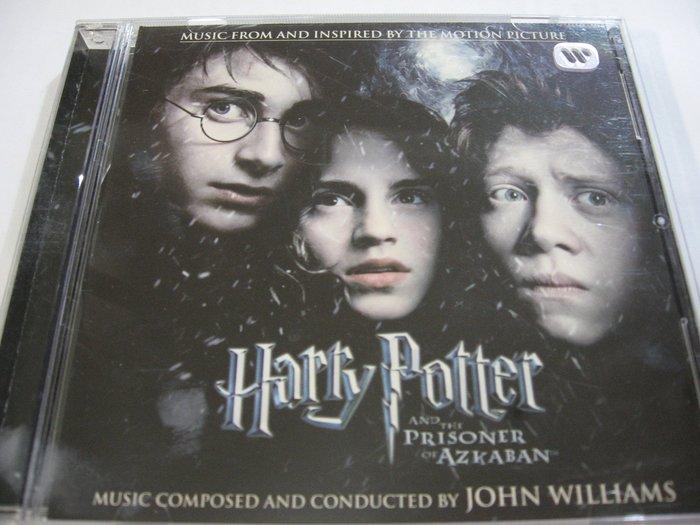 哈利波特Harry Potter:阿茲卡班的逃犯 電影原聲帶 自藏台版CD 附中文側標