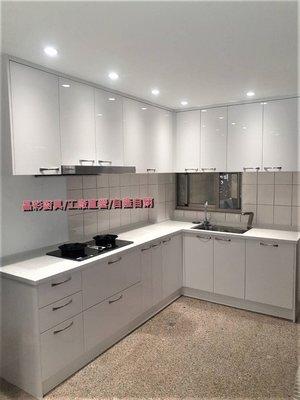 ✨晶彩廚具-最最最經典的白色系廚房. 配上可生飲的諾德淨水器及加熱器-石英石檯面-完工價105400元 廚具-流理台