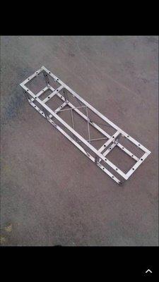TRUSS不銹鋼陳展架 鋁合金灯光架 25公分 2650元一米
