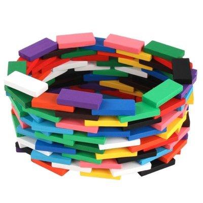 12色120片骨牌【NF622】創意積木 彩色積木 兒童益智 原木 骨牌 機關 創想 教育玩具 益智玩具
