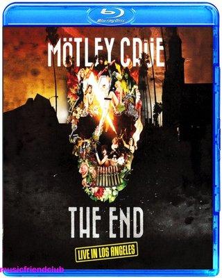 Motley Crue The End Live in Los Angeles (藍光BD50)@XI31227
