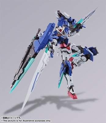 全新日版BANDAI METAL BUILD 00 GUNDAM SEVEN SWORD/G