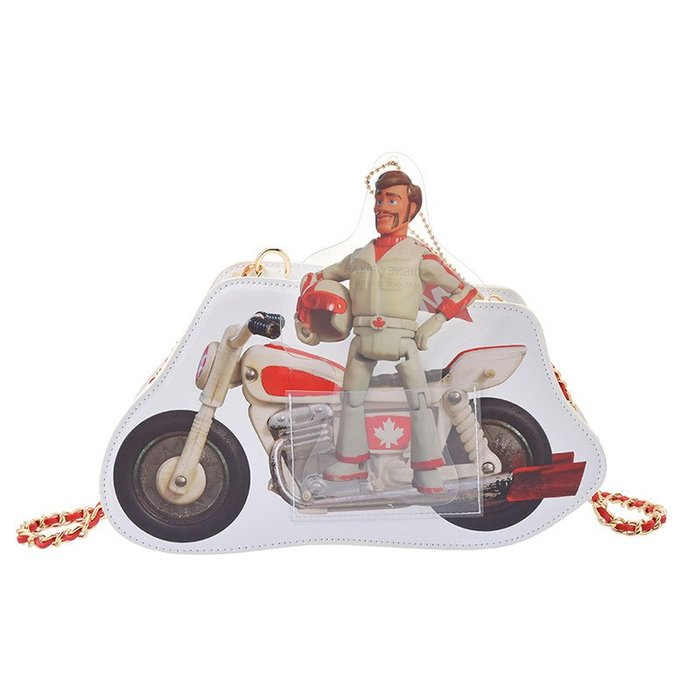 《FOS》2019新款 日本 迪士尼 玩具總動員4 卡蹦公爵 側背包 肩背包 小包 胡迪 巴斯光年 Disney 新款