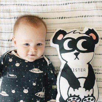 Sis 歐美 北歐 小寶貝們的熊貓小夥伴 兒童房 嬰兒房 家飾品 滿月禮 月子包