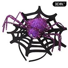 萬聖節 蜘蛛網頭箍 化裝舞會派對 表演道具 人氣節慶產品WE6+21@da90099