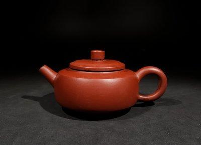 《藏壺軒》~ 賴雅雯 ~ 大紅炮紫砂壺  ~(1元起標、不作價、不圍標、標多少賣多少)