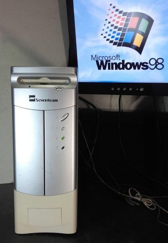 【窮人電腦】跑Windows 98系統!原廠華碩工業小主機出清!雙北桃園可親送外縣可寄!