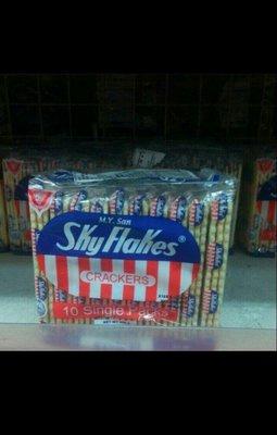 菲律賓 Skyflakes crackers蘇打餅/1包/250g