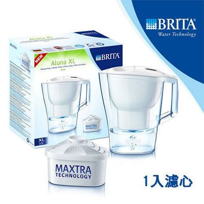 德國 BRITA ALUNA XL 愛奴娜型濾水壺 3.5公升 淨水壺 3.5公升 另有濾芯賣場