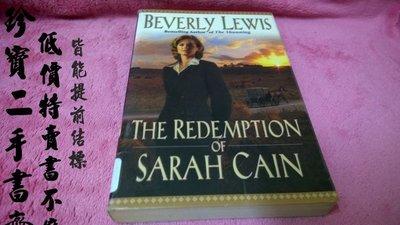 【珍寶二手書齋Fm13】The Redemption of Sarah