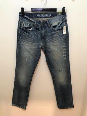 Aeropostale 男 刷色Skinny 牛仔褲 尺寸30x30 全新 現貨