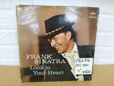 196*英版 Frank Sinatra look to your heart 爵士男聲黑膠