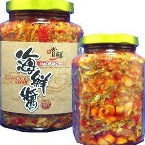 嚐鮮干貝海鮮醬  (小辣。大辣)