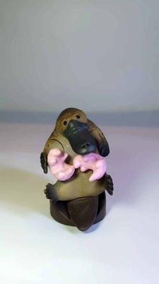 A-222 櫃 現況品 : FURUTA CHOCO EGG 第7彈 有趣動物 隱藏 鴨嘴獸  富貴玩具店