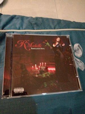 K. MICHELLE REBELLIOUS SOUL 專輯CD  只拆封