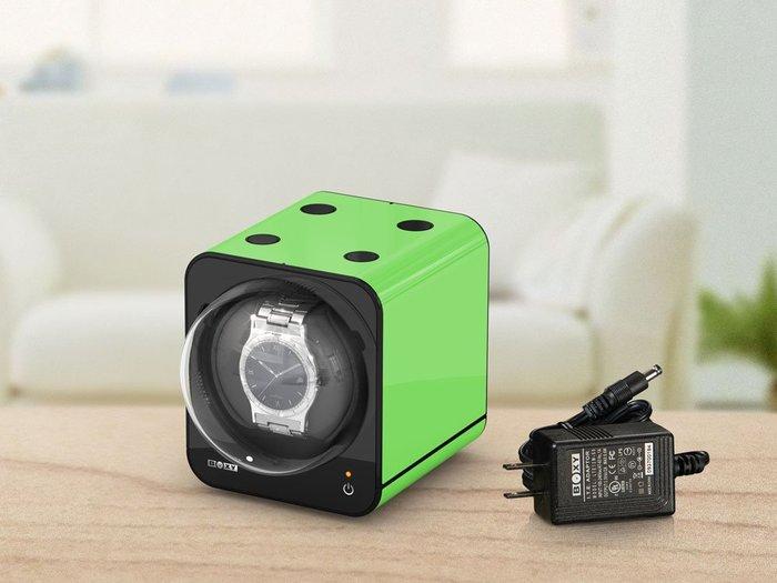 金鐸精品~B008~BOXY FANCY BRICK 綠色 手錶自動上鍊盒