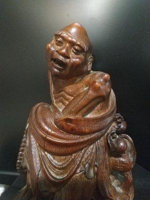 【竹雕館】 品相近乎完美的上三代竹雕圓雕..智慧分享  談談如何引正宗教的部分理念來建立正向的人生觀